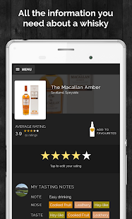 Whizzky Whisky Scanner- screenshot thumbnail