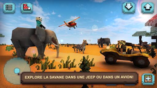 Safari Savane : Animaux Carrés  captures d'écran 1