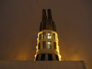 Photo: Laivo kaminas ir diiiiiidelė pūga.