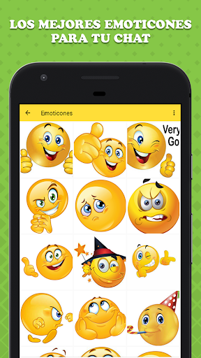 Emoticones para WhatsApp 1.1 screenshots 2