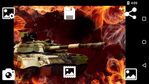 Tank Photo Frame