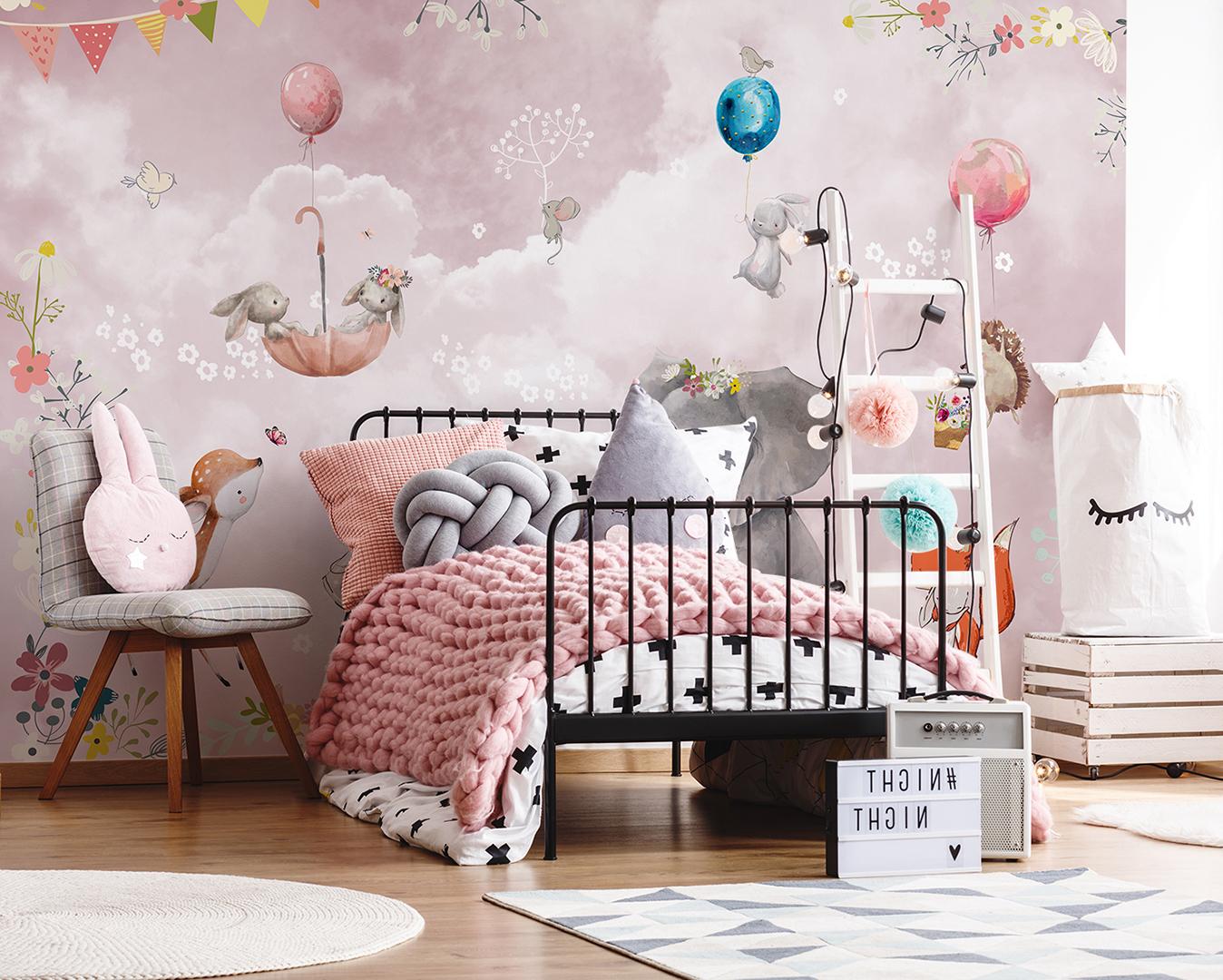 Фотообои в скандинавском стиле в детскую комнату