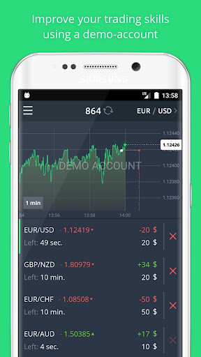 Binatex - binary options screenshot