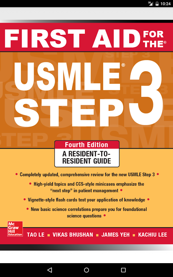 First Aid for USMLE Step 3 4/E- screenshot