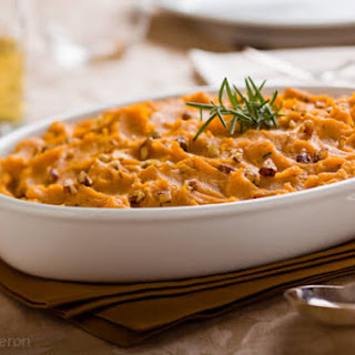 Mashed Sweet Potatoes with Rosemary