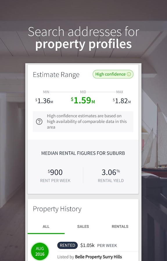 Domain Real Estate & Property- screenshot