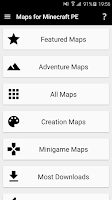 Screenshot of Maps for Minecraft PE