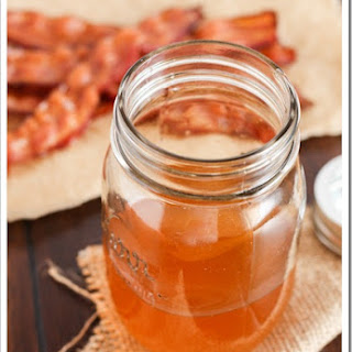 Bacon Infused Bourbon.