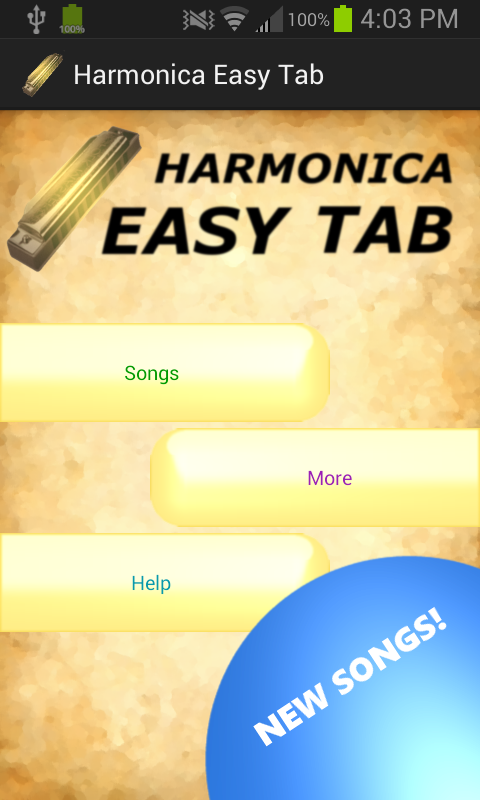 Harmonica harmonica tabs in d : Harmonica Easy Tab - Android Apps on Google Play