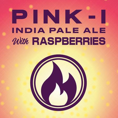 Logo of Bonfire Pink-I Raspberry IPA