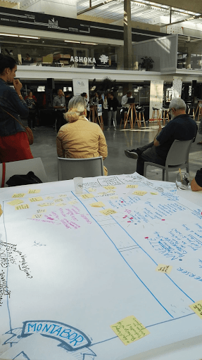 Présentation de l'idée retenue par chacun des groupes en séance plénière