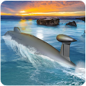 Russian Submarine Navy War Sim icon