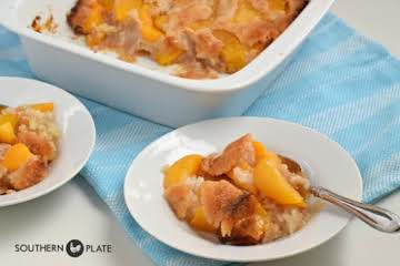 Old Fashioned Peach Cobbler - nothing like it!