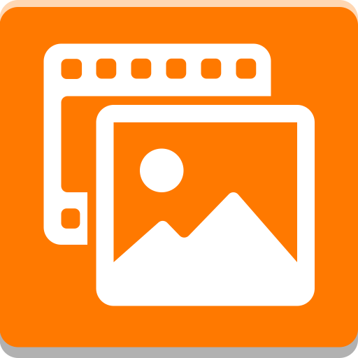 Orange Photos Icon