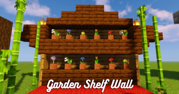 Garden Shelf Wall