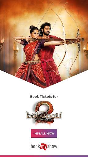 BookMyShow–Movie Tickets,Plays screenshot 1