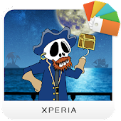 Xperia™ Comic Pirate Theme