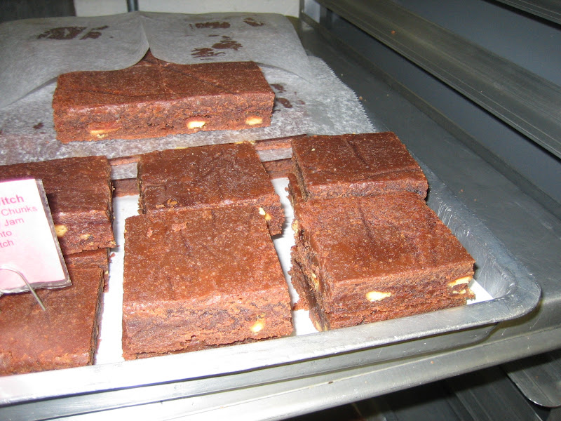 Photo: Brownies in the kitchen at Fat Witch Bakery