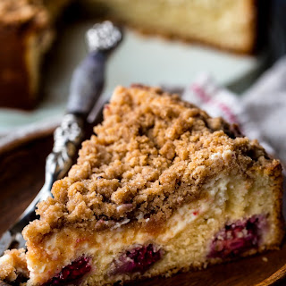 Blackberry Cream Cheese Crumb Cake Recipe