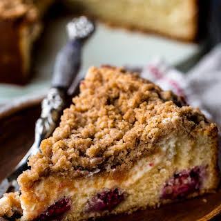Blackberry Cream Cheese Crumb Cake.