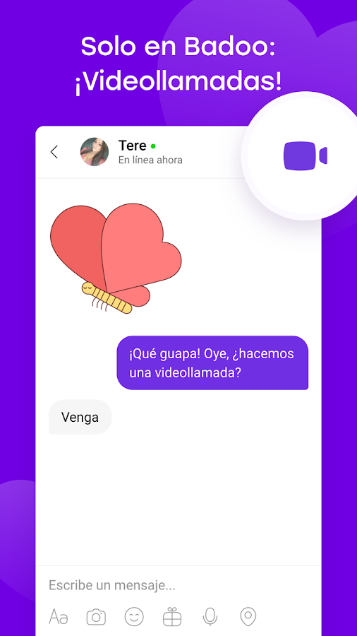 Dating chat que es