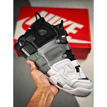 Nike Air More Uptempo OG (Black/Grey/White)