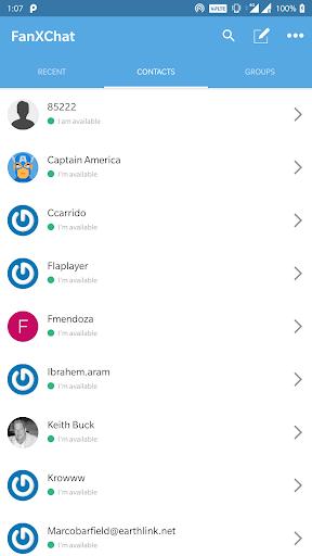 FanXChatスクリーンショット2