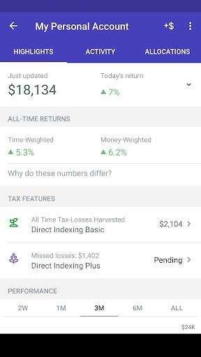 Wealthfront screenshot 3