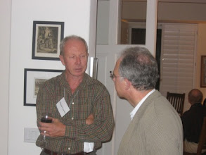 Photo: Professors Michael Cranston and Ivar Ekeland