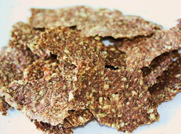 Vegan Juice Pulp Crackers