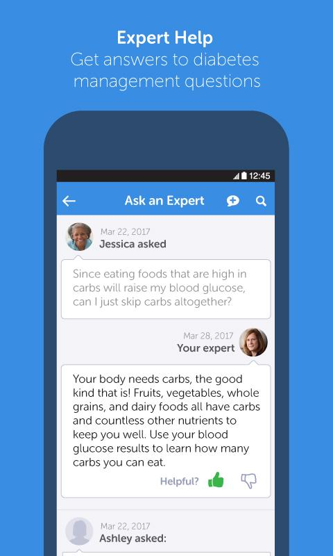 BlueStar Diabetes- screenshot