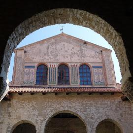 Basilica Eufrasiana a Porec  by Patrizia Emiliani - Buildings & Architecture Places of Worship ( croatia, basilica, porec,  )