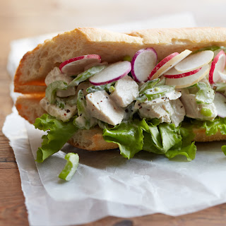 Leftover Blue Cheese Chicken Salad Sandwich