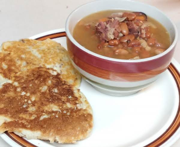 This Soup Is One Of Our Family Favorites.  This Soup Is Quick And Easy In A Hurry.  I Created This With Pintos And Great Northerns, But You Can Use Any Beans You Have On Hand. I Have Been Known To Use Any Left Over Ham.
