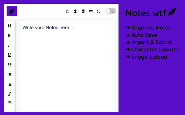 Notes Planner