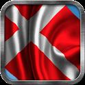 Danish Flag Live Wallpaper icon