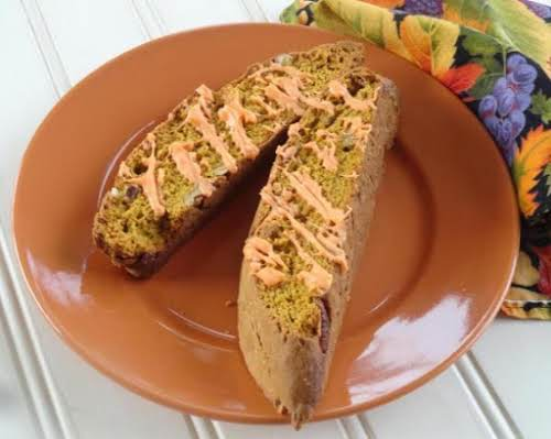 "Pumpkin Spice Biscotti ""This recipe is delightful! Delicious, so easy and my..."