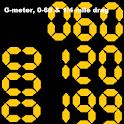 G-meter, 0-60 & 1/4 mile drag icon