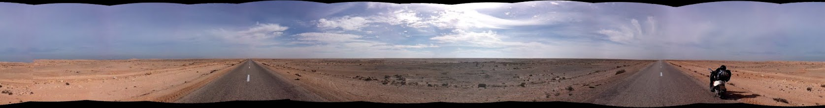 Photo: Straight south in a 360º view