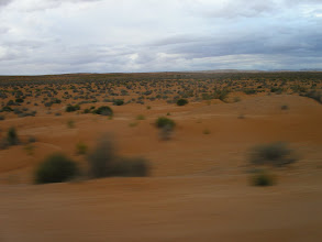 Photo: pustynia z drogi