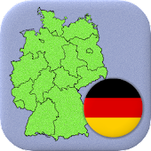 German States - Flags, Capitals and Map of Germany
