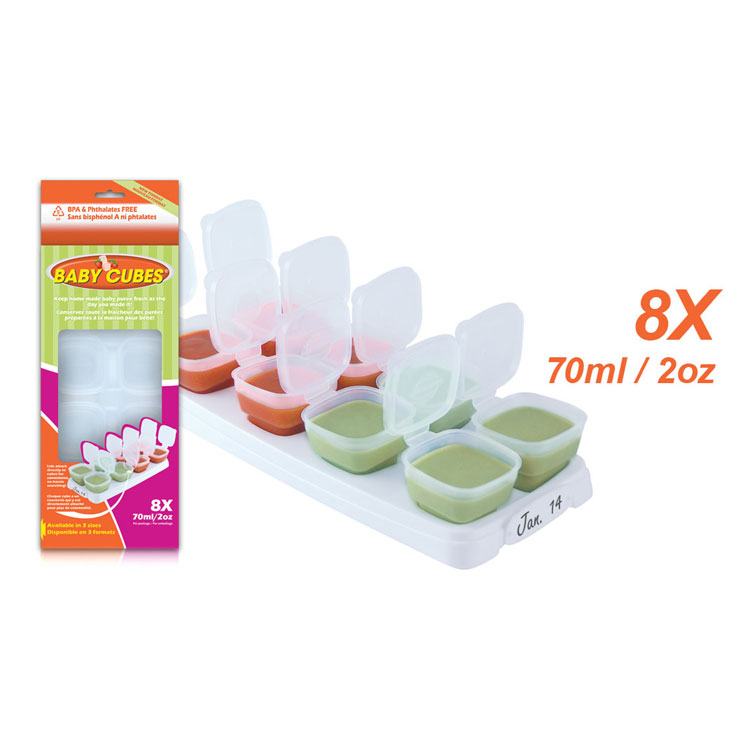 PETITE CREATIONS Baby Cubes (70ml/2oz x 8pcs) by GREEN WHEEL INTERNATIONAL SDN BHD