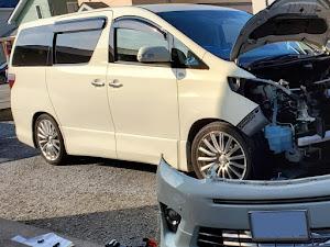 アルファード ANH25W 親車 240S タイプゴールド 4WDのカスタム事例画像 青森県のタイプゴールドさんの2019年08月31日10:11の投稿