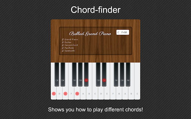 Plypp Piano Chrome Web Store