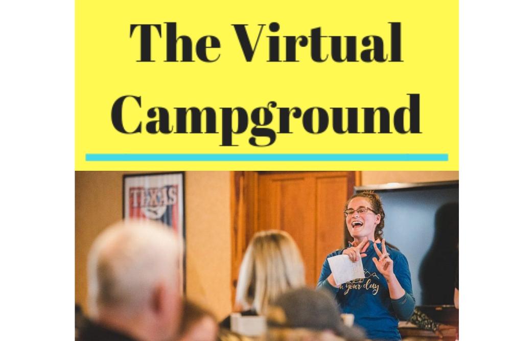 Liz Wilcox speaking at the RV Entrepreneur Summit