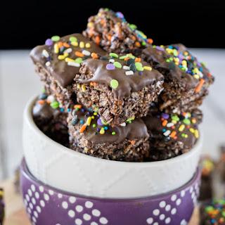 No Bake Chocolate Granola Bar Bites