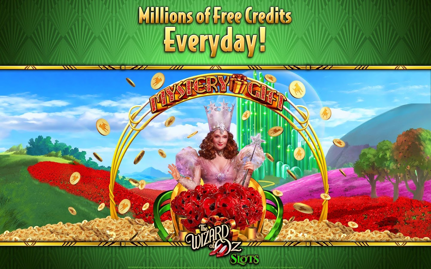 Wizard of Oz Free Slots Casino- screenshot