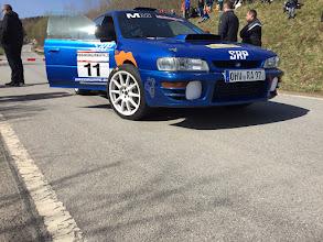 Photo: Hier fotografiert der Fahrer noch selbst (hat ja jetzt auch zeit) Foto: Andreas Rink