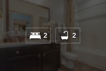 Go to Two Bed, Two Bath B SSG Floorplan page.