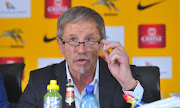 Stuart Baxter coach of South Africa during South Africa Team Announcement on the 01 October 2018 at SAFA House.